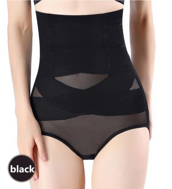 Women's High Waist Shapewear Body Shaper Firm Control Panties Slimming Knickers 10