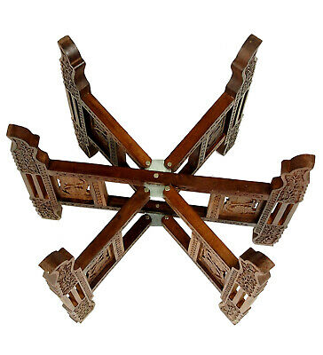 Tischgestell orient Teetisch zusammenklappbare tisch tablett gestell table stand 3