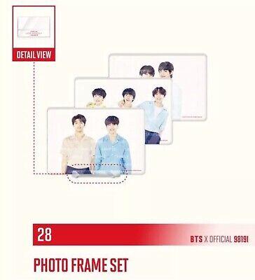 BTS LOVE YOURSELF SPEAK YOURSELF World Tour Official Merchandise PHOTO FRAME SET 3