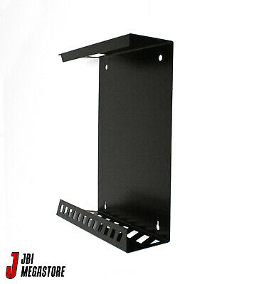Xbox One Original Game Console Wall Mount Bracket Holder Vertical Black Steel 8
