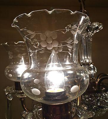 Vintage Lighting circa 1950 Colonial chandelier 5 • CAD $1,197.00