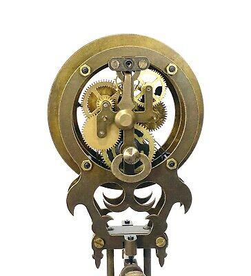 German Style Junghans Onion Boy Swinging Swinger Clock w 8 Day Skeleton Movement 7