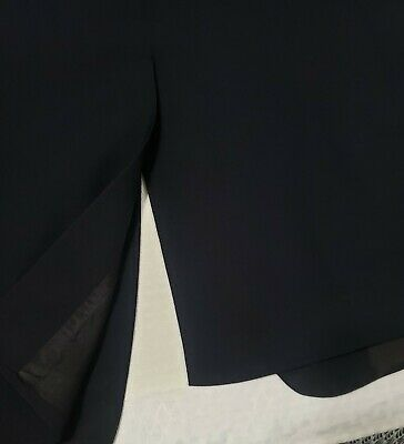Brooks Brothers 346 navy Wool 3-Button front + sleeve Suit jacket sport coat 41 6