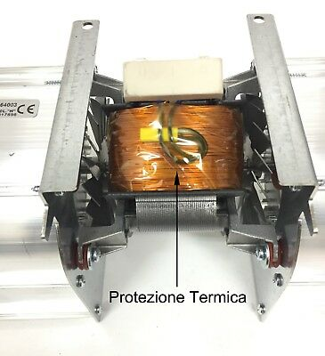 Ventilatore Tangenziale doppio diametro 80 mm 120 W alte temperature 660 m³ora 3