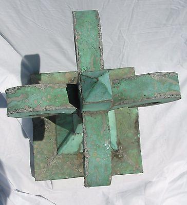 Antique Copper Flordali Finial 6