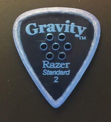 Gravity Picks Europe Classic Razer Sunrise Plectrum 7