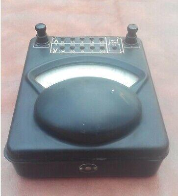 Vintage Ammeter, Voltmeter SIEMENS HALSKE 8