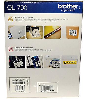 Brother Thermal Label Printer QL-700 QL700 Print Address Labels 3