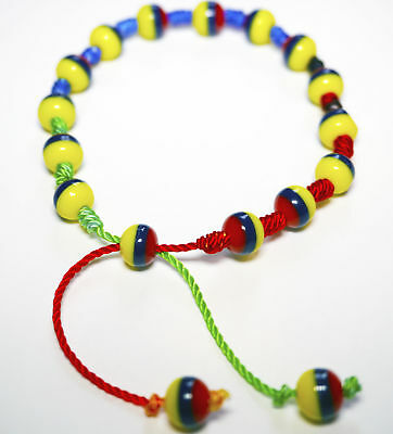 Handmade Beads Bracelet Jewelry By Native Artisans Colombia, Ecuador,Venezuela 4