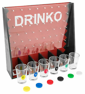 DRINKO NOVELTY DRINKING GAME Hilarious Funny Crazy Social Party Games College 3