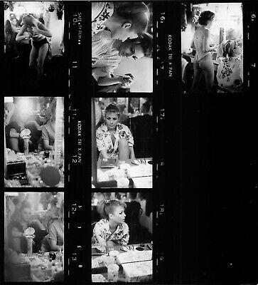 Moulin Rouge 1960, 3 planches contact  argentiques 22x20cm #005 3