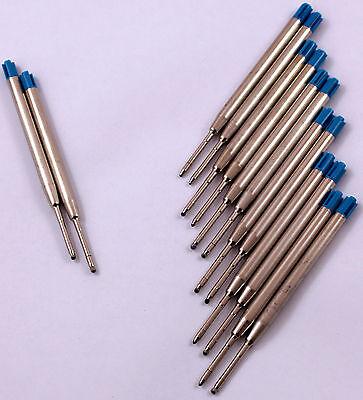Kugelschreiberminen 10 Stück Kuliminen Großraumminen Ersatzminen BLAU Minen 699