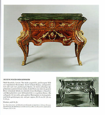 Berlin Castle Potsdam Baroque Rococo chest of drawers type commode royal 3