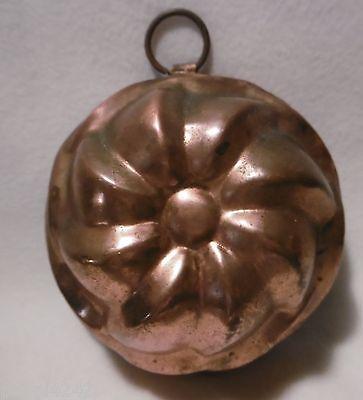 ++   Backform aus Kupfer / Kupferform Kupfermodel Ø 13 cm  ++Hhj
