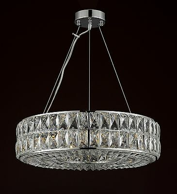3 Of 5 Crystal Spiridon Ring Chandelier Modern Contemporary Lighting Pendant 20 Wide