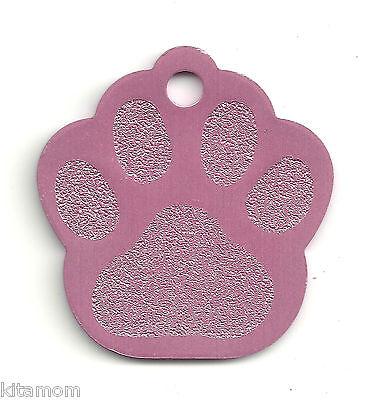 K-9 Dog Paw Animal Foot Print Pet ID Label Name Tag 2