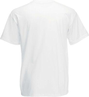 Lot de 10  tee-shirt HEAVY-T Fruit Of The Loom blanc 185gr SC61212
