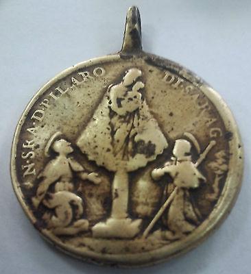 Antigua Y Rara Medalla Religiosa. Gran Tamaño //Old And Rare Religious Medal 5