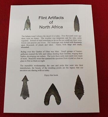 Flint Artifacts of North Africa - NEW BOOK !!