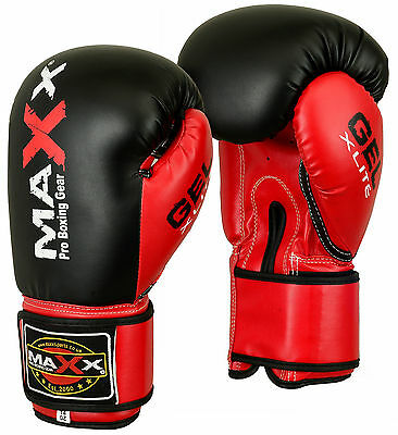 Maxx® Boxing Gloves Punch Bag Training MMA Muay Thai KickBoxing Fight Sparring U 6