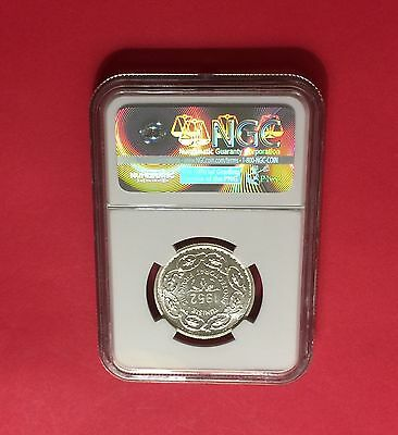 Tunisia Ah1372//1952 Silver 10 Francs Ngc Ms65 Extra Rare! Low Mintage! 2
