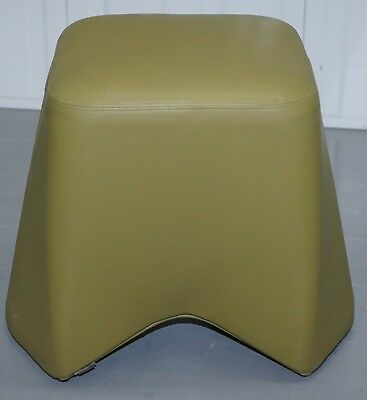 Six Cool Rrp £5280 Boss Design Hoot Leather Stools Modular Contemporary Design 6 10