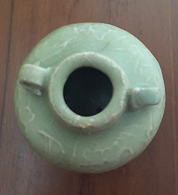Old and Antique Chinese Yuan Dynasty Celadon Jarlet