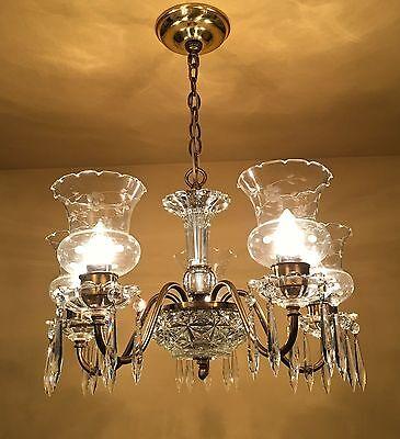 Vintage Lighting circa 1950 Colonial chandelier 2 • CAD $1,197.00
