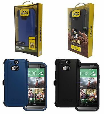 info for f9cd6 88601 NEW OTTERBOX DEFENDER Series Case + Holster Belt Clip for HTC One M8