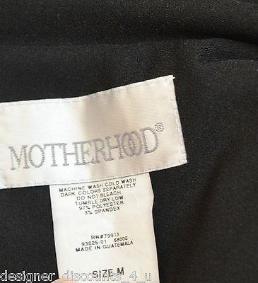 Motherhood Maternity black lightweight blazer professional career wear size M