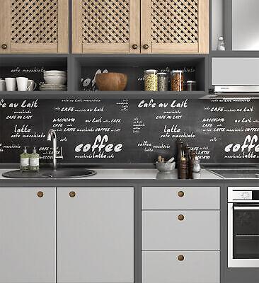 Kuchenruckwand Selbstklebend Coffee 1 5mm Hart Pvc Klebefolie Herd Eur 35 00 Picclick De