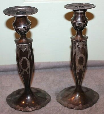 Vintage Marcus & Co. Sterling Silver Candle Sticks Brooklyn Alba Estate 4