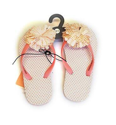 36x Flip Flops Kids Girls Jelly Flipflops Beach Sandals Slippers Job Lot New