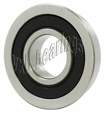 "25pcs FR3-2RS 3//16/"" x 1//2/"" x 0.1960/"" Flanged Metal Rubber Sealed Ball Bearing"
