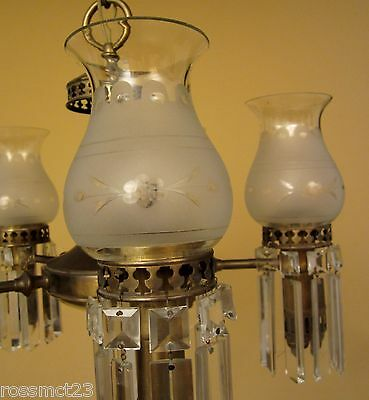 Vintage Lighting 1930s Colonial set by Lightolier. 1 chandelier. 3 sconces 4