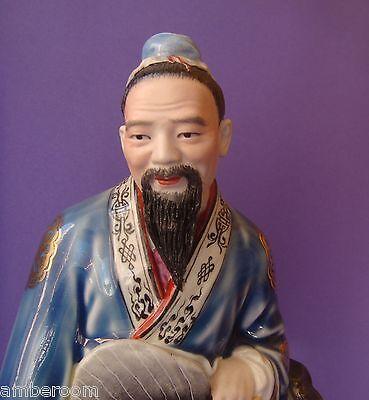 Vintage Rose de Famille chino porcelana estatuilla figura estatua China Wang... 8