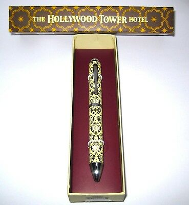 Disney Parks✿Hollywood Hotel Tower of Terror Collectible Executive Writing Pen