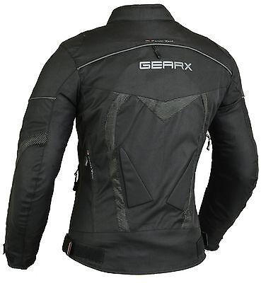 Aircon Motorbike Motorcycle Jacket Waterproof CE Armours