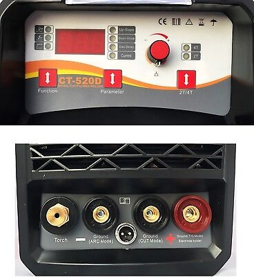 Plasma Cutter With Hf Tig/Mma 3 In 1 Or With Mma 2 In 1 Dc Inverter Welder +Kits 4