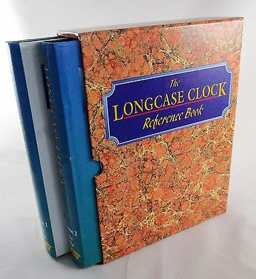 The Longcase Clock Reference Book Volumes 1 and 2 Slipcase John Robey NICE! 2