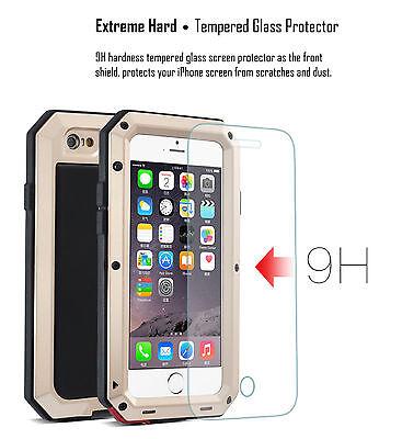 HEAVY DUTY Shockproof Waterproof Aluminum Metal Cover Case Fr iPhone X 11 8 7 6s 7
