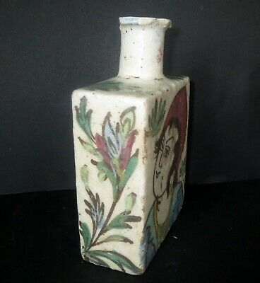 Antique Chinese POTTERY SPICE SCENT BOTTLE VASE Ancient Antiquity 3