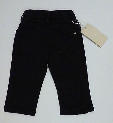 Abbigliamento Bambini - ARMANI Pantalone lungo blu 100% cotone stretch morbido 2