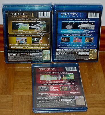 Star Trek Las Series Originales 1-3 Temp. Completas 22 Blu Ray Nuevo Español R2 2