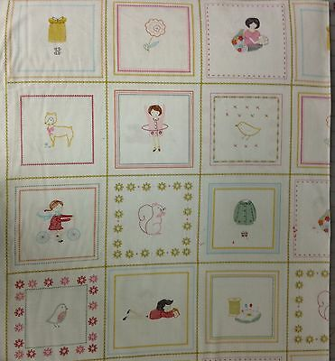 "MODA Fabric Panel ~ SEW STITCHY ~ by Aneely Hoey 24/"" x 45/"""