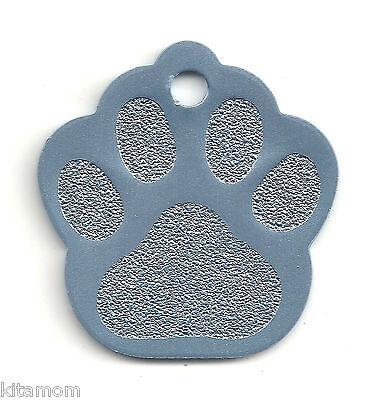 K-9 Dog Paw Animal Foot Print Pet ID Label Name Tag 7