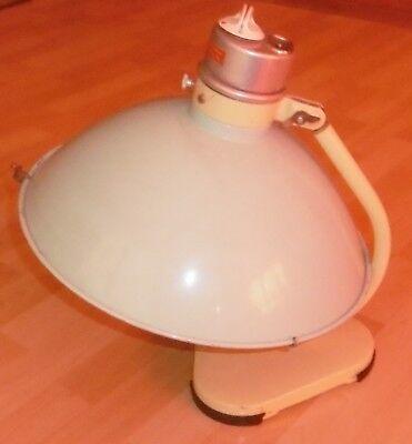 arzt tisch /wand lampe wärme alt top deko mint / gelb thermolite super 60 / 70er 4