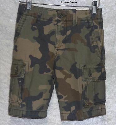 Arizona Boys Cargo Shorts Twill Reg Husky Slim size 8 10 12 14 16 18 20 NEW