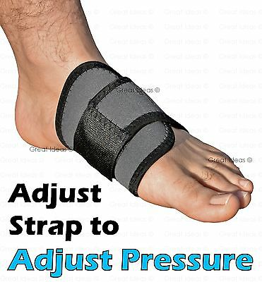 Arch Support Heel Spur Strap Brace Cushion - Pain Fallen Arches Flat Feet Ankle