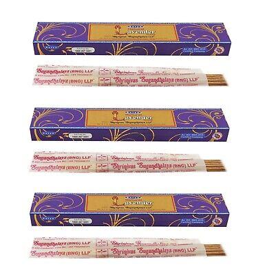 3 or 12 Pack Box Satya Genuine Nag Champa Natural Incense Sticks Joss - Fresh 7